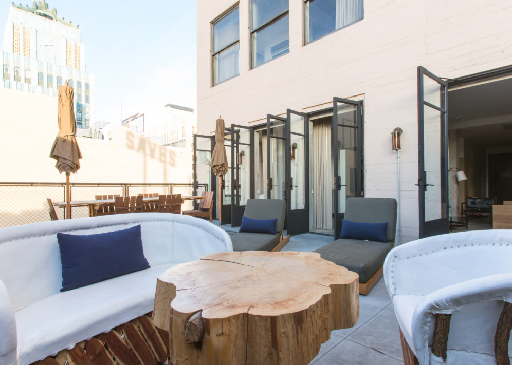 Ace Hotel Downtown Los Angeles Ace Suite Outdoor Space