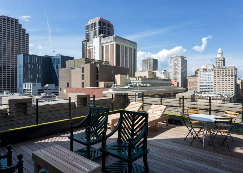 Ace Hotel New Orleans Ace Suite Outdoor Patio